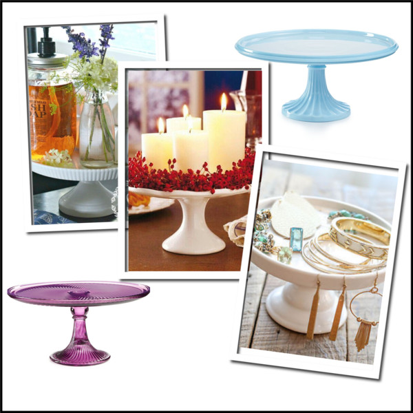 Decorating 101: How to use cake stands as decor