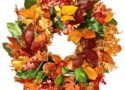 Fall wreathes greet them at the door!