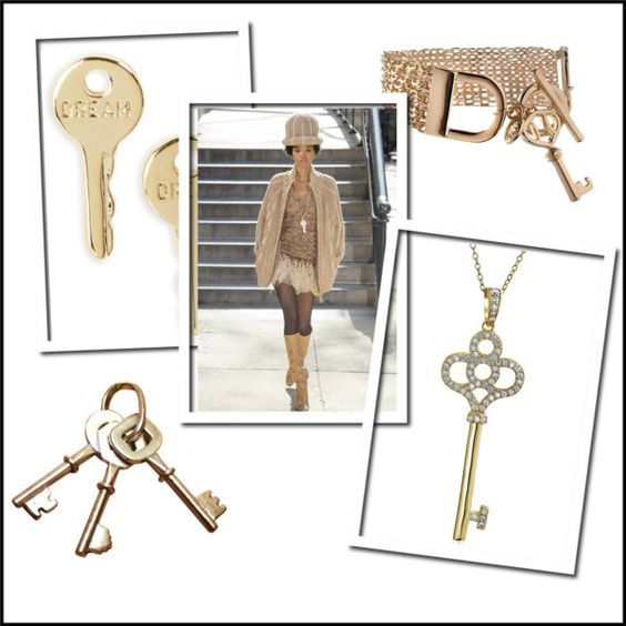 Key jewelry inspired by Marc Jacobs