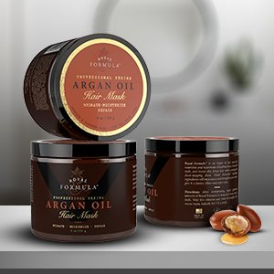 Deep Conditioning Argan Oil Hair Mask is incredible therapy, repairing dry, damaged and color treated hair
