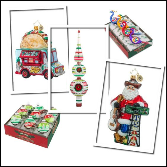 Christmas dreams are filled with... Christopher Radko ornaments!