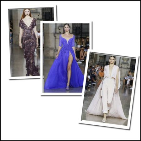 Georges Hobeika fashion inspiration for your holiday gala or black-tie event!
