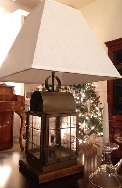 Back Bay Nautical Lantern Table Lamp by Lanternland is perfect for a traditional home!