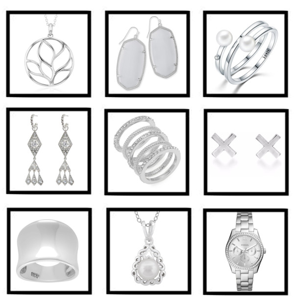 Silver jewelry for the fashionista on your Gift List all priced UNDER $100!