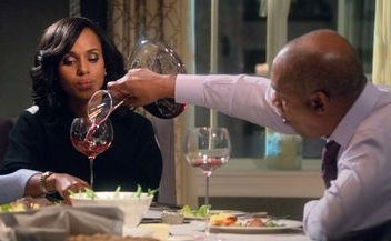 The red wine decanter from Bello Vino is a ringer for Olivia Pope's fave!