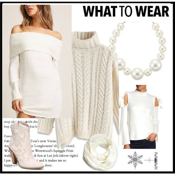 Winter White Fashion: How to incorporate it into YOUR wardrobe!