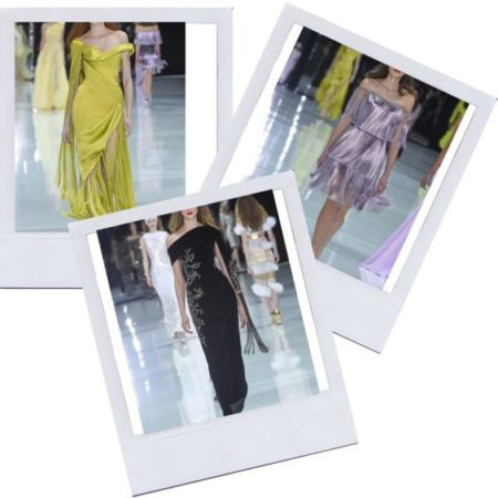 Fringe benefits! At Ralph & Russo, fringe rules for spring and summer
