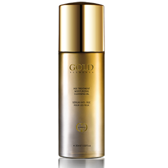 Gold Elements Age Treatment Cleansing Facial Oil