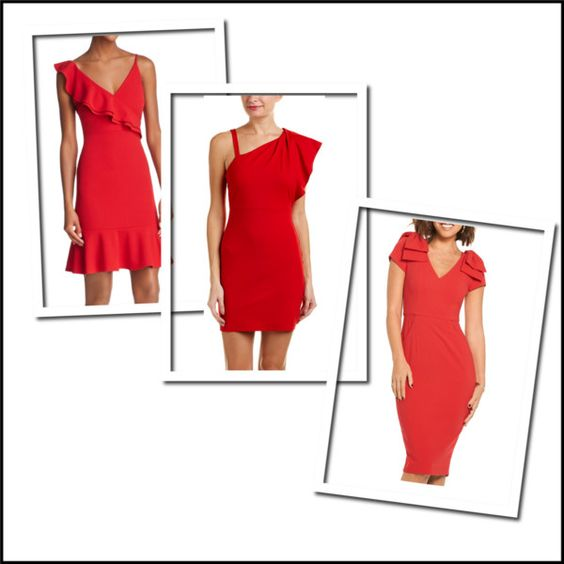 Red dresses for $100 or LESS, just in time for Valentine's Day!