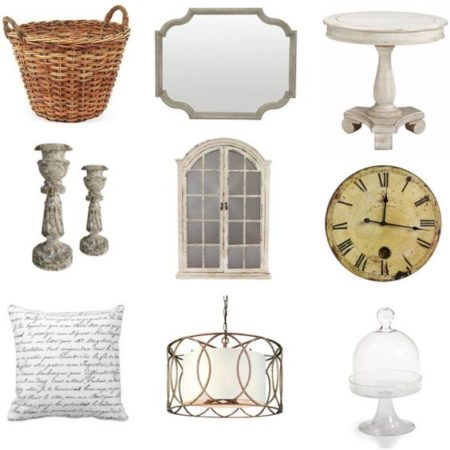 Spring refresh! These pieces are light and bright and instantly update your home