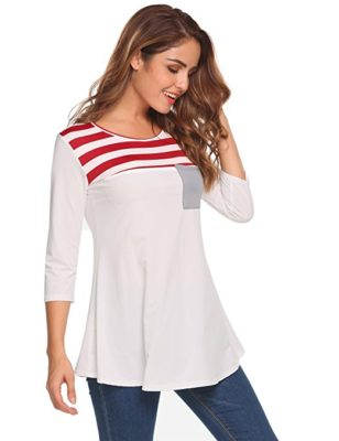 Nautical-Inspired fashion top from Easther is a must-have for spring. Only $18.99!