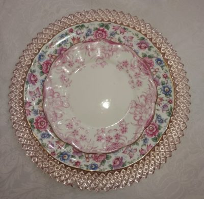 Embracing the charm of mismatched china!