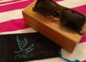 Bamboo sunglasses by Maka Wear are a stylish essential for water sports