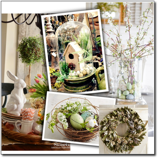 Spring décor 2018! How to refresh your home's interior for an early Easter