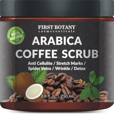 Arabica Coffee Scrub is the perfect wake up call for tired skin!
