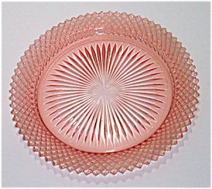 Depression Glass: Miss American pattern in pink!