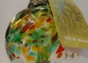 Kitras Art Glass ornament, $24