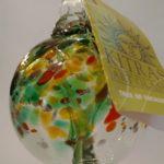 Kitras Art Glass ornament, $24