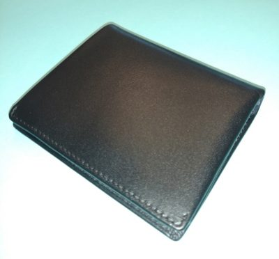 Men's wallet by Amelleon is a grown up look for new grad