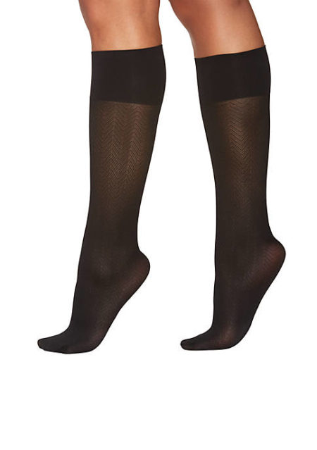 Berkshire Hosiery (already my go-to for stockings and tights) has a wonderful selection of trouser socks that are cute, comfortable, and perfect for work.