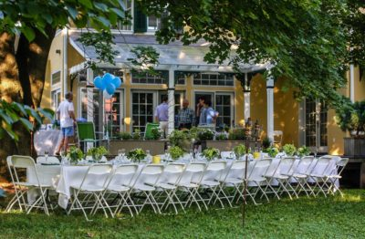 Take a sneak peek into author Clipper LaMotte 's outdoor birthday bash. WIN a signed copy of his new novel!