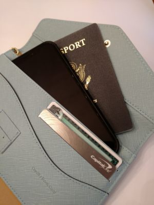 passport wristlet