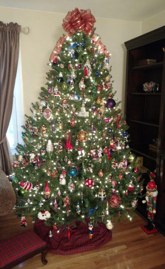 Christmas inspiration! Old World Style mercury glass ornaments.
