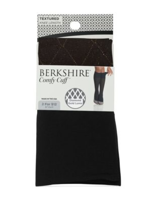 Jeans-+-heels need Diamond Lurex Trouser Socks from Berkshire Hosiery