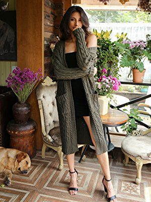 Long cardigan is so versatile, the styling options are endless!