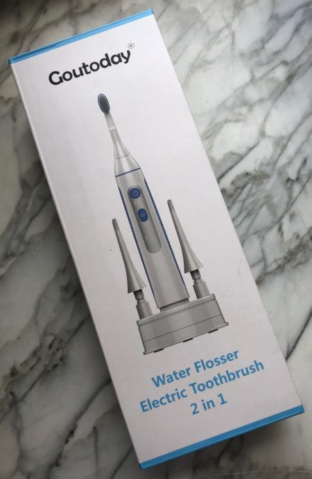 Giveaway! WIN this Goutoday Electric Toothbrush and Water Flosser at Susan Said... WHAT?!