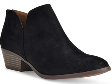 Vegan Suede Boots go anywhere this fall!