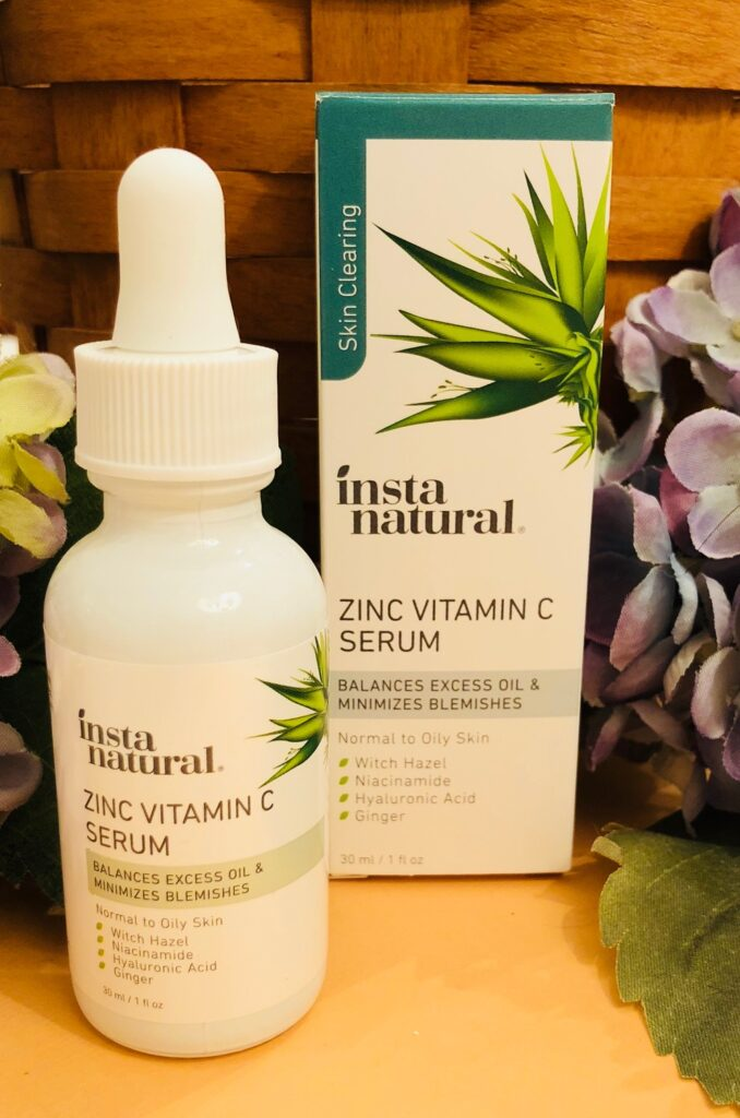How to Reduce Maskne? Zinc Vitamin C Serum