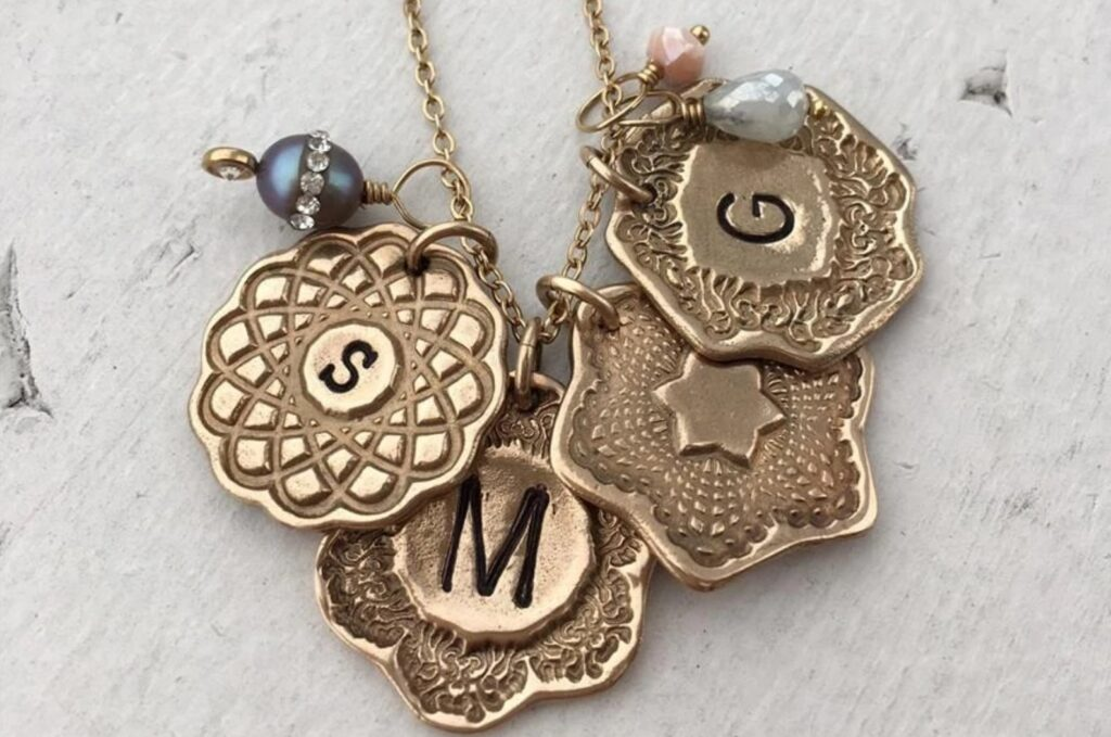 Callista Charm Necklace, Isabelle Grace Jewelry